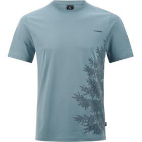 Cube Organic T-Shirt Fichtelmountains Heren, smoke blue